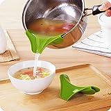 シリコーン注ぎ口 キッチンツール 漏れ止め 鍋の注ぎ口
