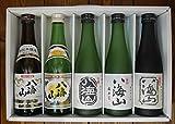 八海山飲み比べセット(大吟醸・純米吟醸・吟醸・特別本醸造・普通酒、300ml×5本入り)【数量限定】