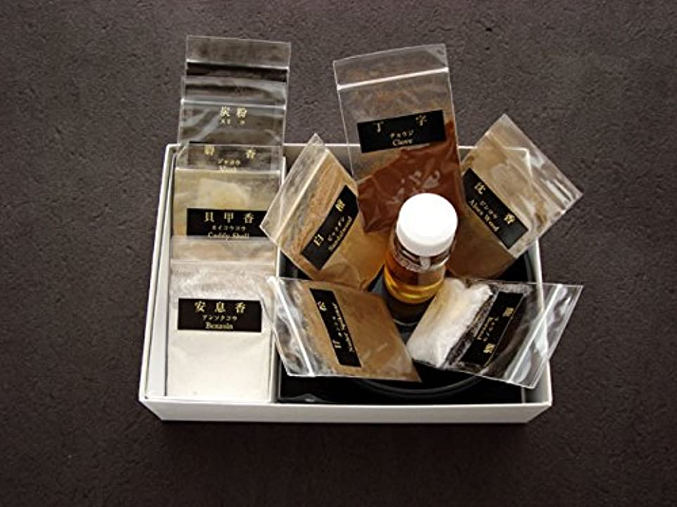 ディレイ四面体夕食を食べるオリジナルの香り 香り遊び 薫物(煉香) 【練香】