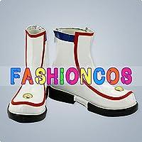 ★サイズ選択可★女性24.5CM UA1230 VOCALOID ボーカロイド 初音ミク Miku コスプレ靴 ブーツ
