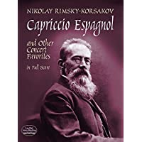 Rimsky-Korsakov: Capriccio Espagnol and Other Concert Favorites in Full Score