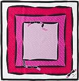 [ランバンオンブルー] レディース プリントハンカチ 17301004 ローズピンク 日本 50-(FREE サイズ)