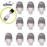 aibow [交換用ペン先 10個セット] 特殊導電繊維 スタイラスペン スマホ iPad iPhone タブレット 等全ての静電容量式タッチパネルに対応abw-ps1