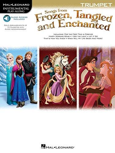 映画「アナと雪の女王」、「塔の上のラプンツェル」、「魔法にかけられて」: インストゥルメンタル・プレイ・アロング・オンライン・オーディオ シリーズ/トランペット・ソロ/ハル・レナード社