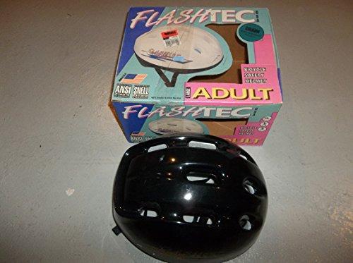 FlashTec Adult Largeブラック自転車ヘルメット–サイズ221/ 2–233/ 4–認定スネルb-90–新しい