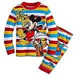 ディズニー ミッキーマウス ミッキー 長袖 パジャマ 130cm 男の子 ボーイ 子供 キッズ グーフィー プルート