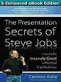 Presentation Secrets of Steve Jobs (ENHANCED EBOOK)
