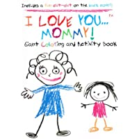 I Love You ... Giant Colouring & Activity Book (Assorted, Designs Vary)