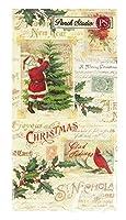パンチスタジオ 【クリスマス】 ペーパーカクテルナプキン Lサイズ (クリスマスモチーフ) ポストカード&ホリィ 45312
