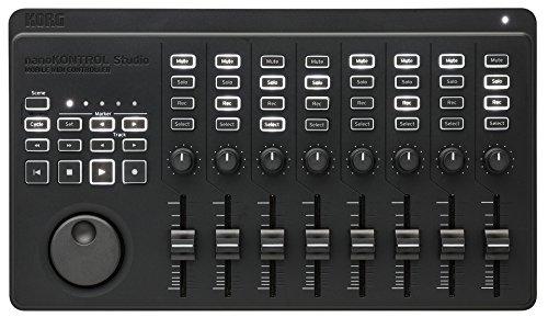 KORG MIDIコントローラー USB・ワイヤレス対応 nanoKONTROL Studio