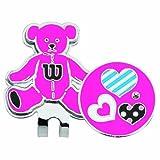 Wilson(ウイルソン) ゴルフ マーカー ベアクリップマーカー WBCM-005L ピンク