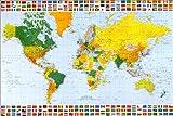 世界地図 [ポスター]