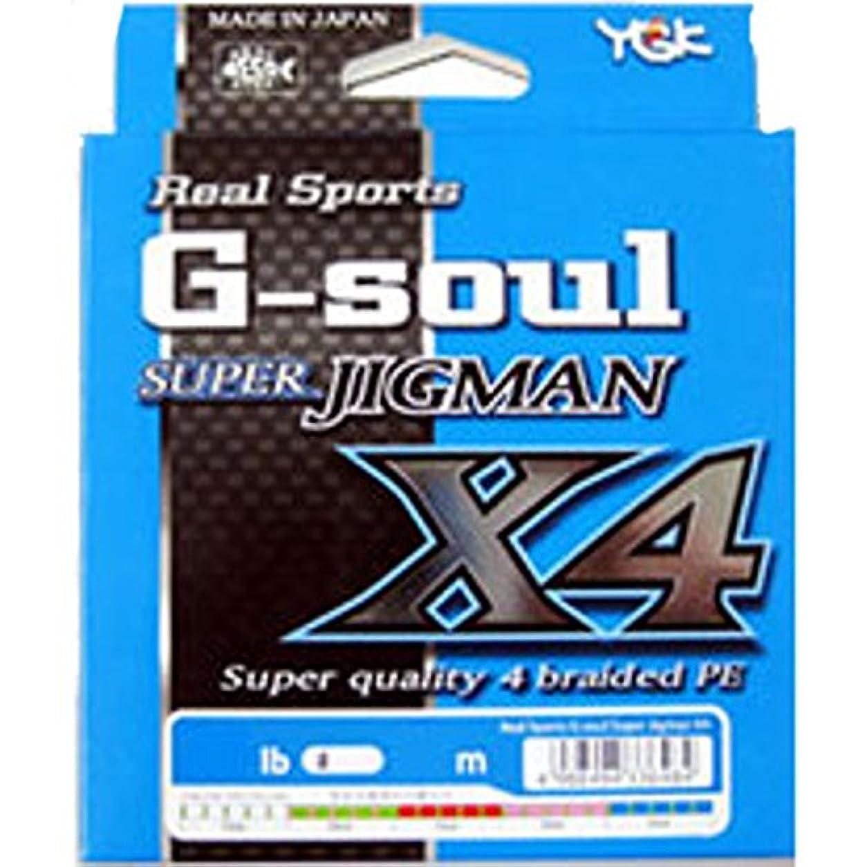 家族黒人邪魔よつあみ(YGK) ライン G-SOUL SUPER JIGMAN X4 600m スロースタイル