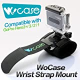 WoCase リストストラップマウント GoPro HD HERO3+ 3 2 1 (ハウジング·フレーム対応) 並行輸入品