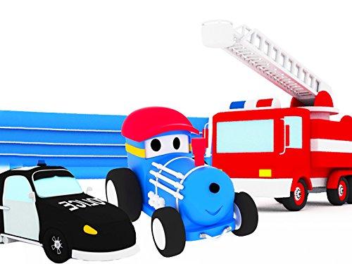 パトカー & 消防車