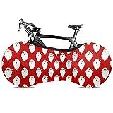 サンタ柄 自転車ホイールカバー 自転車カバー タイヤパッケージ 防水 自転車 保護カバー 防塵 防雨/雪 伸縮式 室内保管用