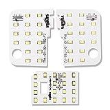 YOURS(ユアーズ) ダイハツ ムーヴ キャンバス LA800 LA810 (減光調整付き) 専用設計 LED ルームランプセット (専用工具付) (1年保証)