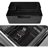 Center Console Organizer for Tesla Model 3, Organizer Tray Insert with Coin and Sunglasses Holder for Tesla Model 3 2017 2018 2019,Black