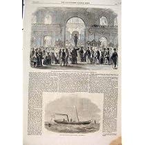 1861 のフィレンツェイタリア博覧会のクリッパーのヨットのガゼル