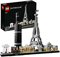LEGO Architecture Skyline Collection 21044 Paris Skyline Building Kit with Eiffel Tower Model and Other Paris City...
