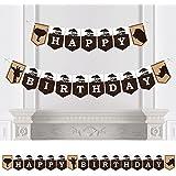 ワイルドサファリ – Africanジャングルアドベンチャー誕生日パーティーホオジロバナー – 誕生日パーティーデコレーション – Happy誕生日