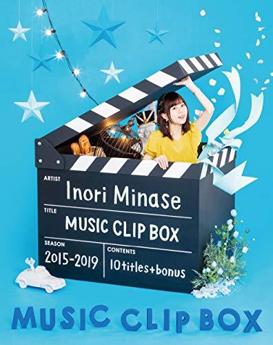 【Amazon.co.jp限定】Inori Minase MUSIC CLIP BOX(オリジナル・ロゴ缶バッチ付) [Blu-ray]