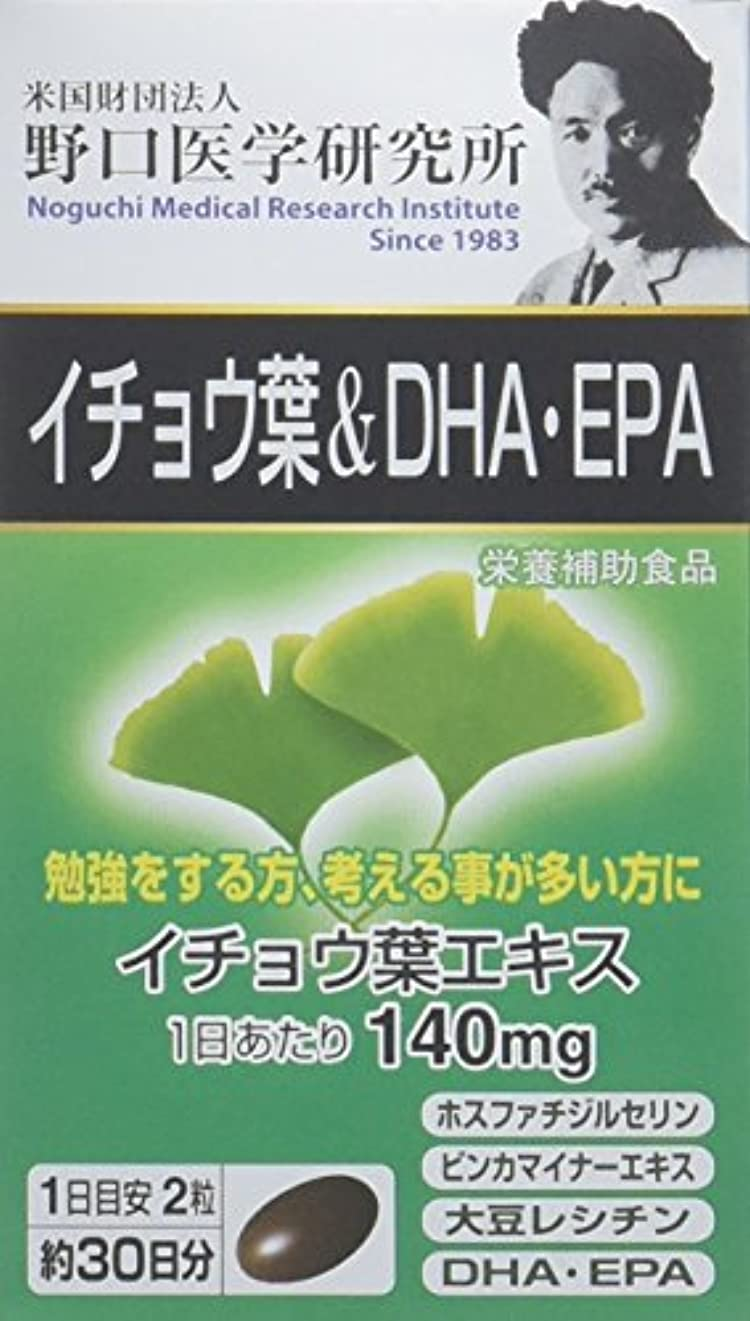 神経障害大型トラック横に野口医学研究所 イチョウ葉&DHA?EPA お徳3個セット