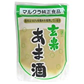 マルクラ 玄米あま酒 有機米使用 250g