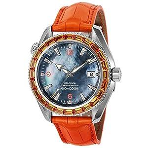 [オメガ]OMEGA 腕時計 Seamaster Aqua Terra ブルーパール文字盤 コーアクシャル自動巻き 2912.50.48 メンズ 【並行輸入品】