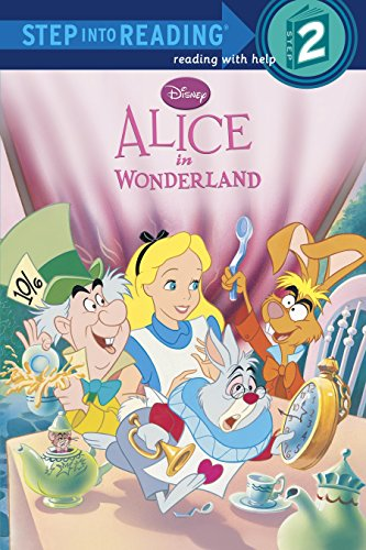 Penguin Random House Step into Reading『Alice in Wonderland (Disney Alice in Wonderland) 』