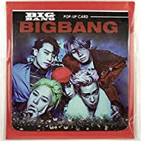 BIGBANG ビッグバン グッズ / ポップアップカード (グリーティングカード バースデーカード メッセージカード 等) - POP-UP CARD (GreetingCard BirthdayCard MessageCard etc) [TradePlace K-POP 韓国製]