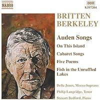 ブリテン/バークリー:オーデンの詩による歌曲集