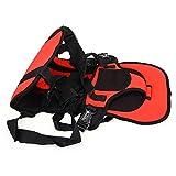 調整可能なポータブル幼児のカーシート安全ベルト (赤)