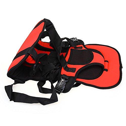 調整可能なポータブル幼児のカーシート安全ベルト (赤)...