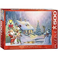 EuroGraphics Home for Christmas 500-Piece Puzzle [並行輸入品]