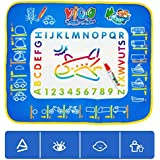 ZHUOTOP Funny Baby Educational Splash Water Doodle Magic Painting Mat Cloth Play Toy