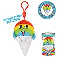 Whiffer Sniffers Willy B。Chilly Snowcone香りつきバックパッククリップ