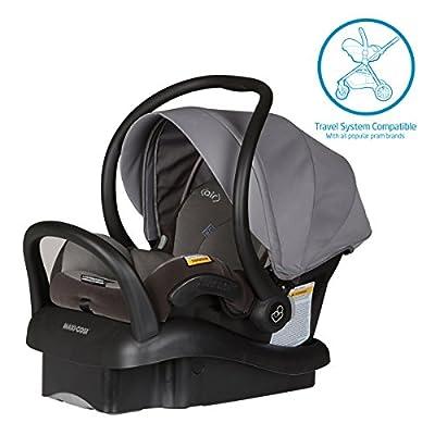MAXI COSI Mico Newborn Baby Capsule with ISOFIX & Air Protect, Granite