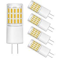 G4 LED電球 バイピンベース 調光不可 12V 40W ハロゲン電球相当 交換用ランプ電球 LED G4 ライト バイピンベース 3000K (ウォームホワイト)