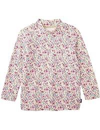 [ベルメゾン] あったか 接結 天竺 ハイネック Tシャツ ピンク系花柄