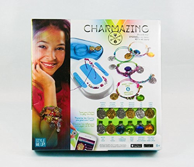 スタイルMe Up 。Charmazingデラックスキットasst. Kids Art Crafts