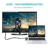 BHOMEA USB Type C ハブ hub 6in1 Macbook Pro 13/15インチ用 PD充電 HDMI出力 4K USB 3.0ポート*2 マルチ変換アダプタ 高速データ転送 SD&MicroSDカードスロット コンパクト 軽量Chromebook/Lenovo/HP/MacBook/MacBook Pro 対応 画像