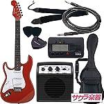 SELDER セルダー エレキギター ストラトキャスタータイプ サクラ楽器オリジナル ST-23LH/MRD 初心者入門ベーシックセット 左利き用