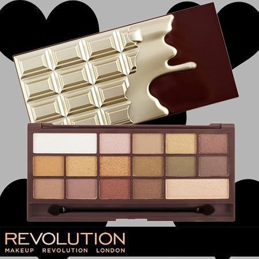 キャンディーメッセンジャー起こりやすいメイクアップレボリューション アイラブメイクアップ アイラブチョコレート #ゴールデンバー 16色アイシャドウパレット -MAKEUP REVOLUTION-
