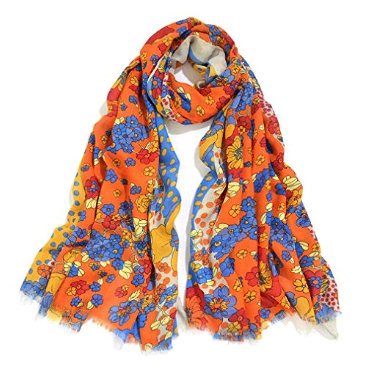 イーウェル手を差し伸べるセラーレディース?ショール - 女性のスカーフ軽量の春の冬のスカーフヘッドのショールラップソフトスタイリッシュなショールラップストライププリントスカーフ180 * 90センチメートル 家の装飾 ( Color : B )