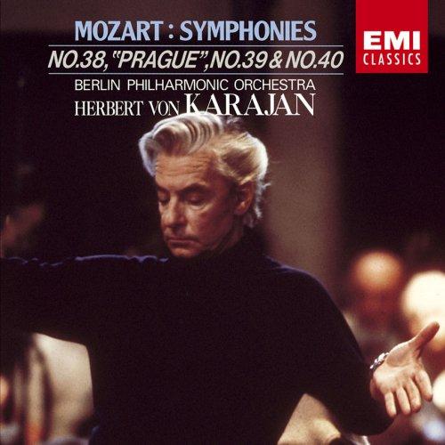 モーツァルト:交響曲第38番「プラハ」、第39番&第40番