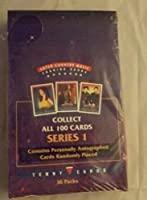 1993 SUPER COUNTRY MUSIC PHOTO TRADING CARDS 36 UNOPENED PACKS FULL BOX by Super Country Music