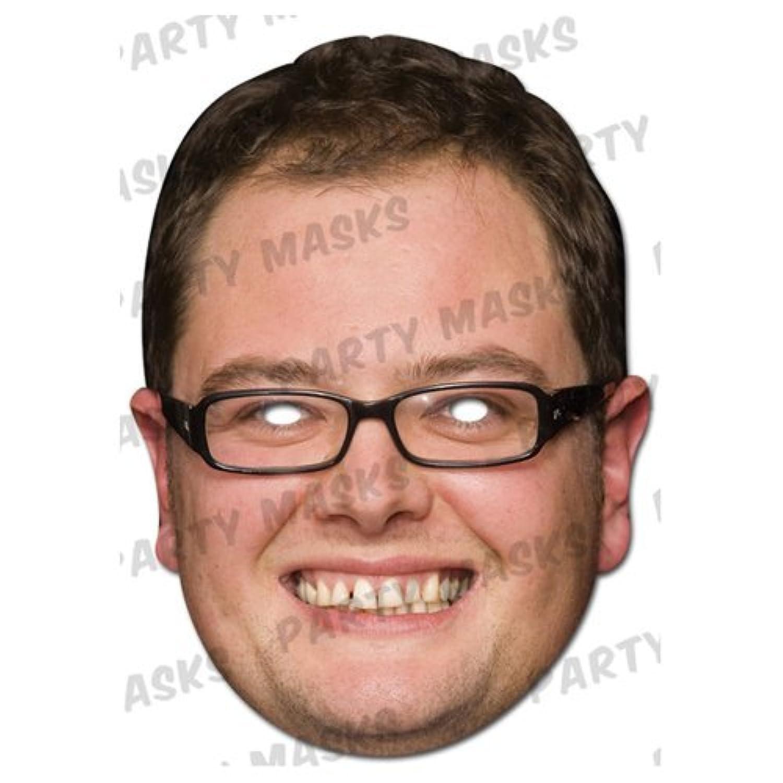 Chat Show Hosts Mask Pack- 2 Masks- Alan Carr and Johnathon Ross [並行輸入品]