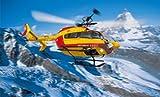 電動RCヘリ S.R.B EC145 塗装済ボディセット セキュリティシビル