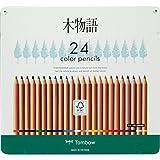 トンボ鉛筆 色鉛筆 F木物語 24色 CB-RF24C
